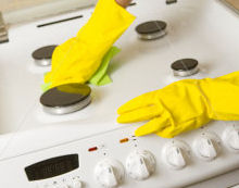 Cleaning Cooker & Oven